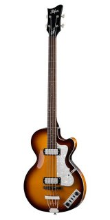 Hofner Ignition Club Bass, Sunburst, W/Case (H64/CB) ギター