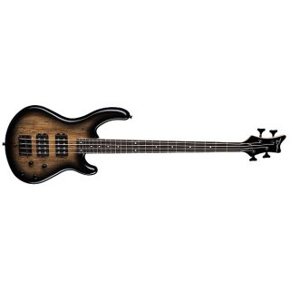 Dean Edge 2 Spalt Maple 4-String Electric Bass - Charcoal Burst ギター