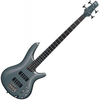 Ibanez 2017 metalic gray 4 string bass ギター