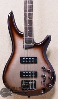 Ibanez SR300E Electric Bass Guitar in Charred Champagne Burst ギター