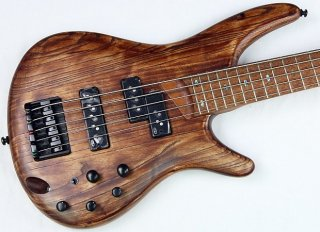 Ibanez SR655 5-String Electric Bass Guitar Antique Brown Stained, NEW! #41588 ギター
