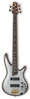 Ibanez SR1405E Premium 5 String Electric Bass - Glacial White ギター