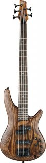 Ibanez SR655 5 String Electric Bass Guitar - Antique Brown Stained ギター