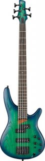 Ibanez SR655 5 String Electric Bass Guitar - Surreal Blue Burst ギター