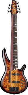 Ibanez SRAS7-DEB Workshop 7 String Bass Guitar - Dragon Eye Burst ギター