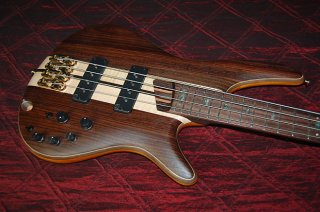 New Ibanez Premium SR 1800 Natural Electric Bass Authorized Dealer Warranty ギター