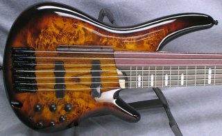 Ibanez Bass Workshop SRAS7 7 string fretted & fretless bass ギター