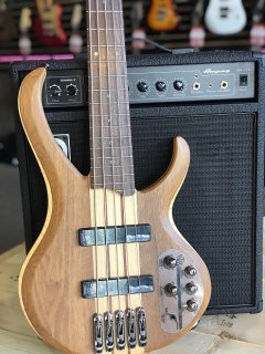 Ibanez BTB675 BTB 5?String Electric Bass Natural Flat ギター