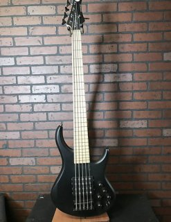 MTD Super 5 five string bass Black Satin ギター