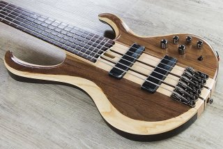 Ibanez BTB746 BTB Standard 6-String Electric Bass Rosewood Fretboard Natural Low ギター