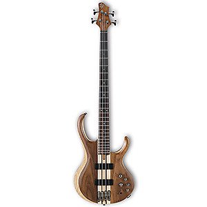 Ibanez BTB747 Natural Low Gloss 4-String Electric Bass ギター