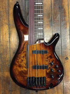 Ibanez SRAS7 7-String Electric Bass Guitar Dragon Eye Burst ギター