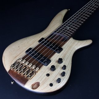 Ibanez Premium SR1306E 6 String Active Bass Natural Flat With Bag ギター