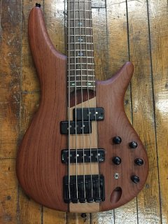 Ibanez SR755-NTF 5-String Bass Natural Flat ギター