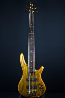 Ibanez Premium SR1206E 6-String Bass - Vintage Natural Flat (44D) ギター