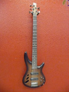 Ibanez SR30TH5NNF Natural Brown Burst Flat, Semi Hollow 5 String Bass, Free Shipping ギター