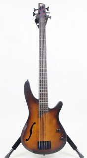Ibanez SRH505 5-String Semi-Hollow Bass Guitar ギター