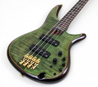 Ibanez SR1400E Premium Series Bass Guitar - Mojito Lime Green ギター