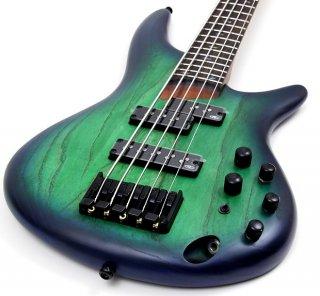 Ibanez SR655 SR Series 5-String Bass Guitar - Surreal Blue Burst ギター