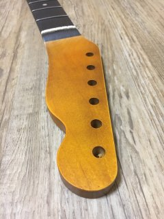 未使用 ALLPARTS製Fenderフェンダーテレキャスター9.5 C ダークレリック加工 ローズウッドヴィンテージ ギターネック