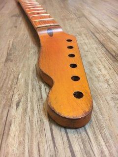 未使用 ALLPARTS製Fenderフェンダーテレキャスター9.5 C レリック加工 メイプル ヴィンテージ ギターネック