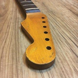 未使用 ALLPARTS製Fenderフェンダーストラトキャスター 9.5 C ダークレリック加工 ローズウッドヴィンテージ ギターネック