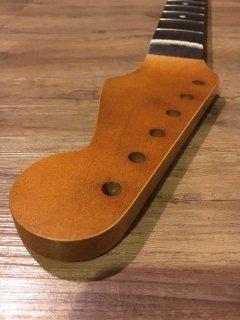 未使用 ALLPARTS製Fenderフェンダーストラトキャスター FAT 9.5 Cレリック加工 ローズウッド ヴィンテージ ギターネック