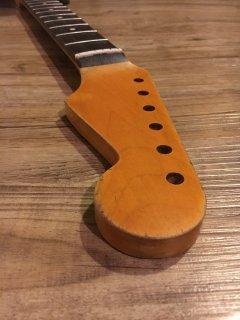 未使用 ALLPARTS製Fenderフェンダーストラトキャスター22 XJ 9.5 C レリック加工 ローズウッド ヴィンテージ ギターネック
