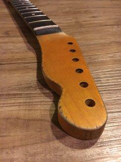 未使用 ALLPARTS製Fenderフェンダーテレキャスター9.5 C レリック加工 ローズウッド ヴィンテージ ギターネック
