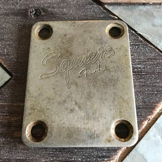 Fender/Real Life Relics Aged Relic Squire Neck Plate  Aged Nickel 送料無料