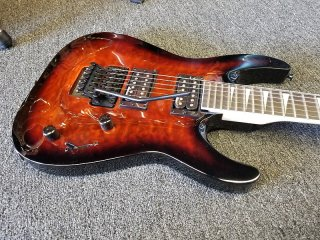 Jackson JS32Q DKA Dinky Sunburst Quilt/Free Gig Bag/MAKE OFFER ギター