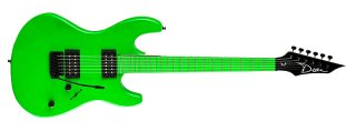 Dean CZONE NG Series Nuclear Green 80s Style Double Cutaway Electric Guitar ギター