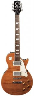 Jay Turser JT-220D-TE 220D Series Single Cutaway 6-String Electric Guitar - Tiger Eye ギター