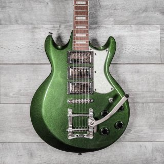 Ibanez AX230T AX Series Double Cutaway Electric Guitar Metallic Forest ギター