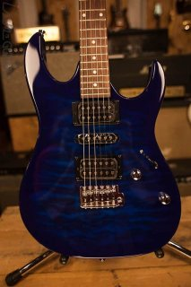 2018 Ibanez Gio GRX70QA Transparent Blue Burst ギター