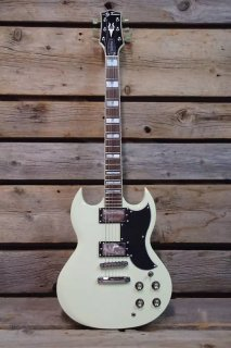 Jay Turser JT-50-CUSTOM-IV 50 Custom Series 6-String Electric Guitar - Ivory ギター