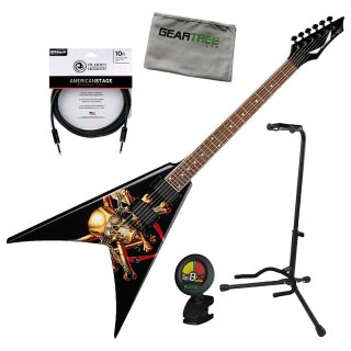Dean VMNT KIMB Dave Mustaine Killing is My Business Guitar w/Stand, Cloth, Tuner, Cable ギター