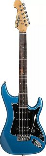 Washburn S2HMBL Sonamaster Series Body Alder 6-String Acoustic Guitar - Metallic Blue Finish ギター