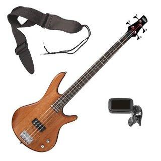 Ibanez GSR100EX 4-String Bass Guitar - Mahogany Oil BONUS PAK ギター