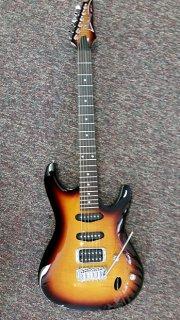 Ibanez SA160FM Electric Guitar 2016 Brown Burst ギター