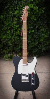 Reverend Pete Anderson Eastsider T in Satin Black - Free Shipping! ギター
