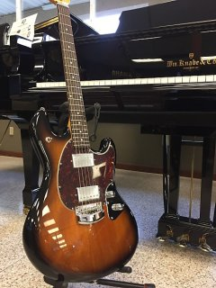 Ernie Ball Music Man Music Man Stingray Guitar 2017 vintage tabacco ギター