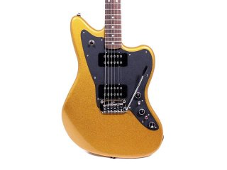 G&L CLF Research Doheny V12 Gold Electric Guitar w/ Case ギター
