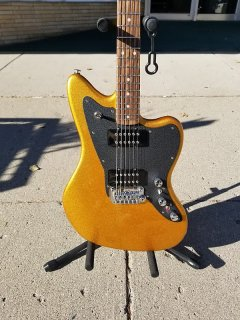 G&L CLF Research Doheny V12 2018 Pharaoh Gold Urethane ギター