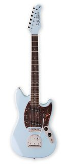 Jay Turser JT-MG2-SBL MG-2 Series Single Cutaway Rosewood Solid Body Electric Guitarギター