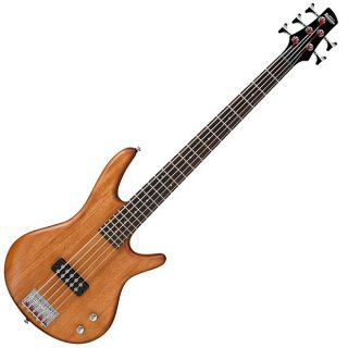 Ibanez GSR105EX 5-String Bass Guitar - Mahogany Oil ギター