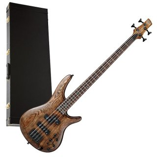 Ibanez SR650 4-String Bass Guitar - Antique Brown PERFORMER PAK ギター