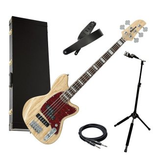 Ibanez TMB605 5-String Talman Bass - Natural BASS ESSENTIALS BUNDLE ギター