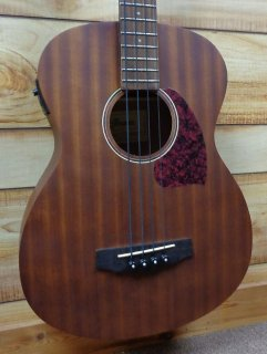 New Ibanez PCBE12MH Acoustic Electric Bass Mahogany Open Pore Natural ギター