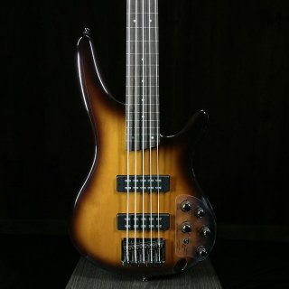 Ibanez SR375EF 5-String Fretless 2018 Brown Burst ギター